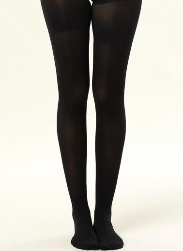Dagi Slım Fıt Korseli Kadın Çorap Siyah
